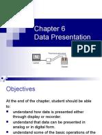 Chapter 6 - Data Presentation