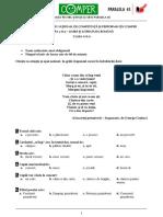 Subiect Si Barem LimbaRomana EtapaII ClasaII 10-11