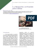 Elda Viviana Tancredi, Codificación y Geografía, Unificando Lo Diverso Sobre Tablas