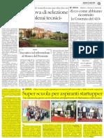 2016 04 12 - Il Quotidiano Del Sud - Startup Super School