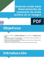 Titulación ácido-base. Determinación del contenido de ácido acético en el vinagre.pptx