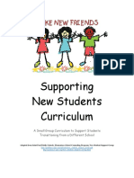 supporting new students curriculum  elementary