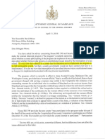 Warrant Intercept - Maryland Attorney General Opinion