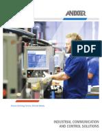 13B1593X00 Anixter Industrial Comm Control Solutions Brochure en US