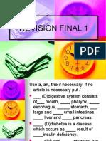 Final Revision Grammar 1