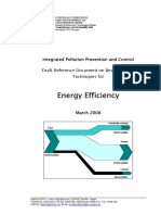 BREF-33 Energy Efficiency (Final Draft for Presentation to the IEF) - March 2008