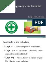 Saúde e Segurança Do Trabalho