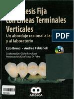 La Prótesis Fija con Líneas Terminales Verticales, Bruna & Fabianelli