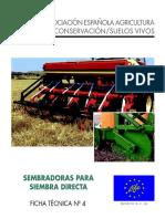 Agricultura de Conservacion - Sembradoras Para Siembra Directa