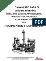Curso de tuberías para plantas de proceso - 0204 Recipientes y Depositos