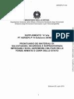 Materiale di sopravvivenza militari italiani aereomobili