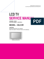 Lg 32lc3r-Zj Chassis Lp61a Sm