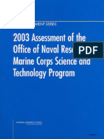 Committee for the Review of ONR's Marine Corps