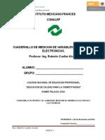 Cuadernillo de Mediciones Electricas y Electronicas