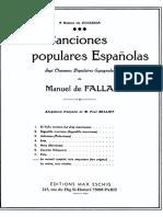 Siete Canciones Populares Espanolas