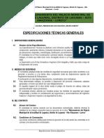 Especificaciones Tecnicas Generales Palacio Municipal