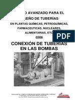 Curso de tuberías para plantas de proceso - 0206 Conexion a Bombas