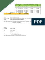 Calculos de Formulacion