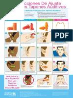Earplug Instruction Poster - ES
