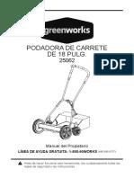 25062 GW Manual 25062 18in Reel S Manual