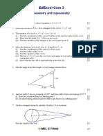 C2 Geometry and trigonmetry+solutions