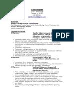 teach resume 2016