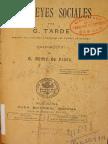 Las Leyes Sociales (Tarde, Gabriel 1898).pdf