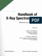 Handbook of X-Ray Spectrometry Methods and Techniques