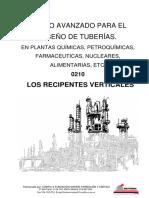 Curso de tuberías para plantas de proceso - 0210 Recipientes Verticales