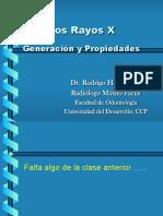 Produccion Rayos X y Propiedades