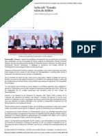 """11-03-16 Presenta Gobernadora Pavlovich """"Escudo Ciudadano"""" para prevención de delitos. -Peñasco Digital"""