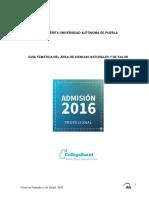 Guía BUAP 2016 Cs Naturales Salud