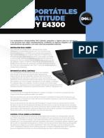 Dell Latitude Ultra Portable Customer Brochure Es