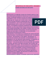 Meditaciones Metafísicas de Descartes- Por Rosa Maria Castri