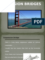 Suspension Bridges