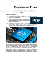 Intel hace la migración a la nube más rápida y más fácil