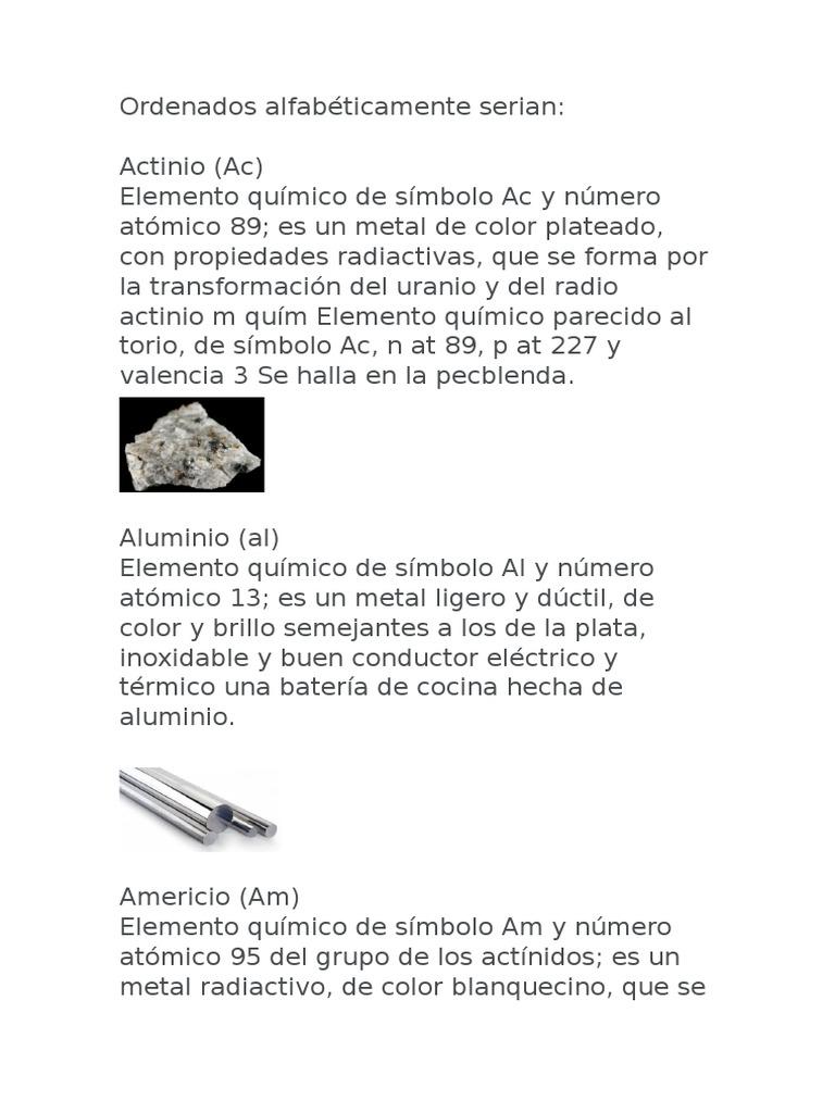 Elementos quimica urtaz Images