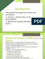 Standard Pemasangan Instalasi Listrik
