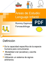 Áreas de Estudio Lenguaje