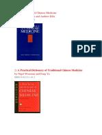 8 Libros Fundamentales Para El Aprendizaje de La Medicina China Autentica