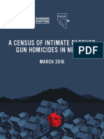 A Census of Intimate Partner Gun Homicides in Nevada - March 2016