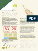 Thrive Far North 2015 Evaluation Report