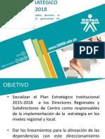 Presentación Plan Estratégico 2015 - 2018