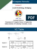 Virtual Circuit switching, Bridging
