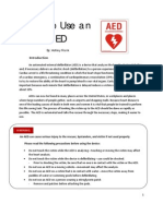 English Instruction - How to use an AED