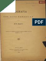 Etnografía del Alto Paraguay de Guido Boggiani año 1898
