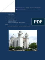 Análisis Histórico Formal Catedral de San Salvador