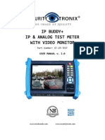 Securitytronix St Ip Test User s Manual