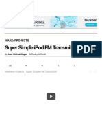 Super Simple iPod FM Transmitter _ Make