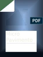 Micro Pavimento
